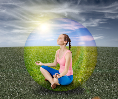 woman-meditating-bubble